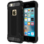 Military Defender Shockproof Case for Apple iPhone SE / 5s / 5 - Black