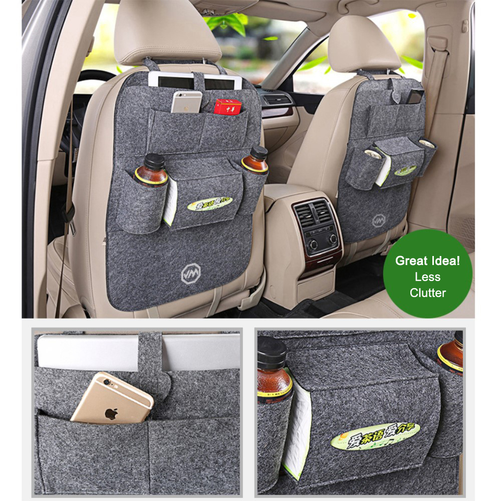 Joyroom Car Headrest Back Seat Multi Pocket Travel Storage Bag Holder
