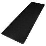 Large Non-Slip Rubber Mat Smooth Cloth Surface Gaming Mouse Pad - Black