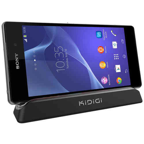 Kidigi Magnetic Charging Cradle / Charger Dock for Sony Xperia Z2