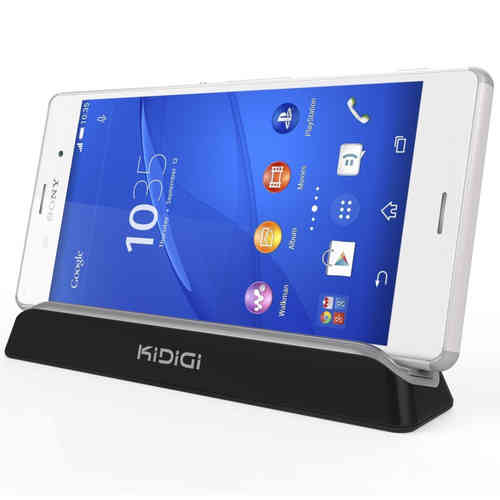 Kidigi Magnetic Charging Cradle Charger Dock - Sony Xperia Z3 Compact