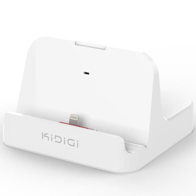 kidigi 2 4a charge sync dock apple ipad air 2 white. Black Bedroom Furniture Sets. Home Design Ideas