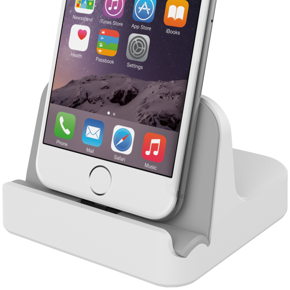 iphone 6 dock kidigi charge amp sync dock apple iphone 6s 6s plus white 11322