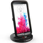 Kidigi 2A Rugged Case Ready Desktop Dock & Charger Cradle for LG G3
