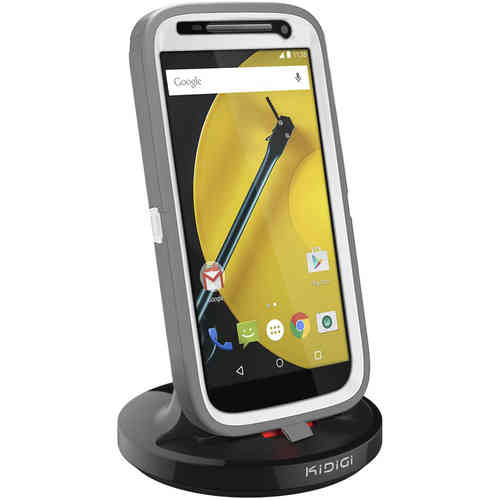 Kidigi 2A Rugged Case Dock Charger Cradle for Motorola Moto E 2nd Gen