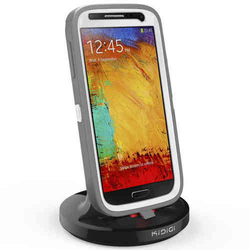 Kidigi 2A Rugged Case Dock & Charger Cradle for Samsung Galaxy Note 3