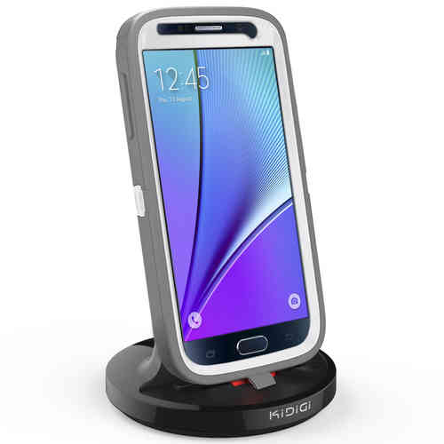 Kidigi 2A Rugged Case Dock & Charger Cradle for Samsung Galaxy Note 5