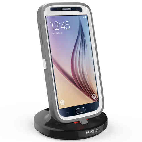 Kidigi 2A Rugged Case Dock & Charger Cradle for Samsung Galaxy S6