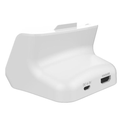 Kidigi HDMI Output Charging Cradle for Samsung Galaxy Note 2 - White