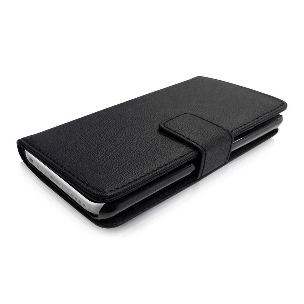 iphone 5c wallet cases leather wallet card holder apple iphone 5c black 2302