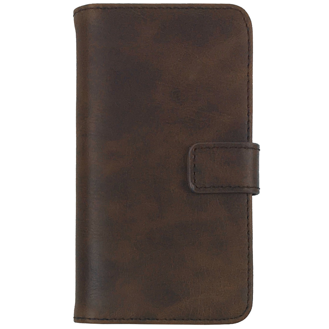 apple iphone 5s leather case leather wallet for apple iphone se 5s brown 4802