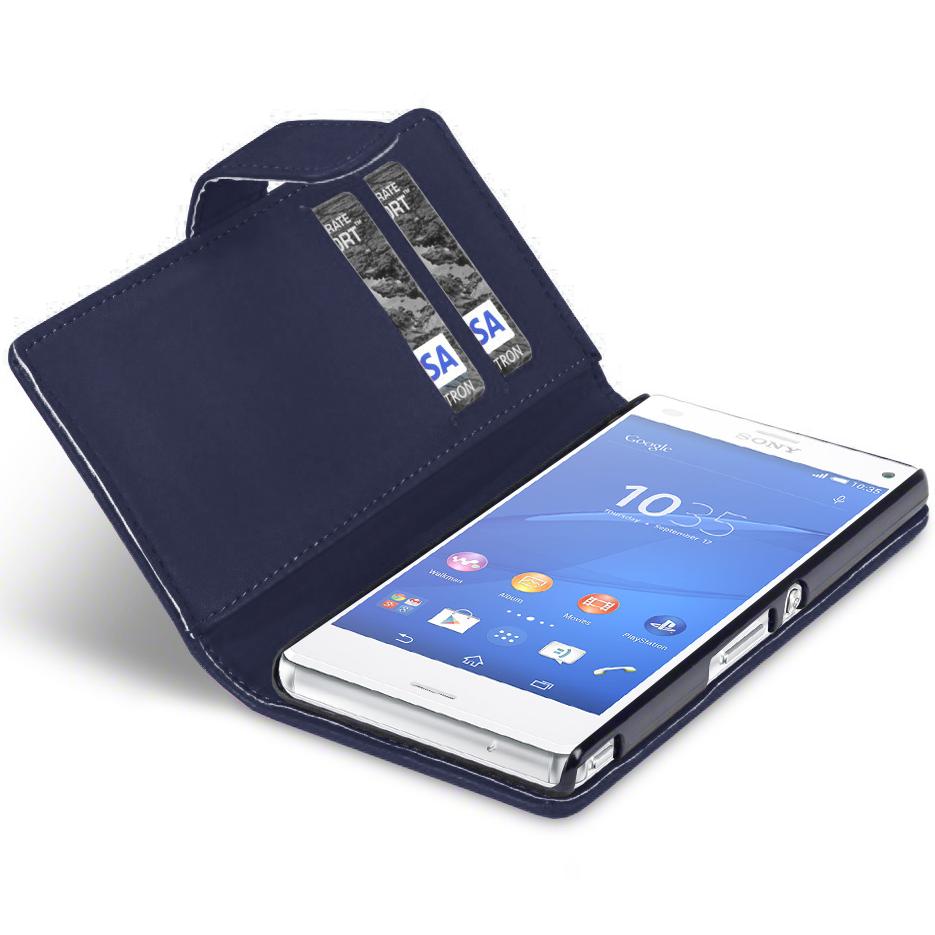 xperia z3 compact flip case