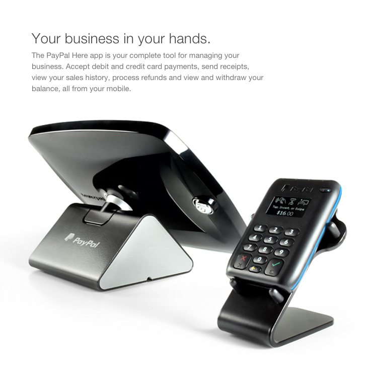 paypal paywave tap go portable bluetooth credit card reader terminal - Paypal Credit Card Swiper