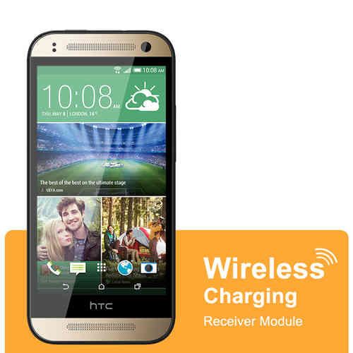 Micro USB Qi Wireless Charging Receiver Card - HTC One Mini 2