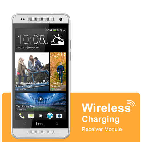 Micro USB Qi Wireless Charging Receiver Card - HTC One Mini M4