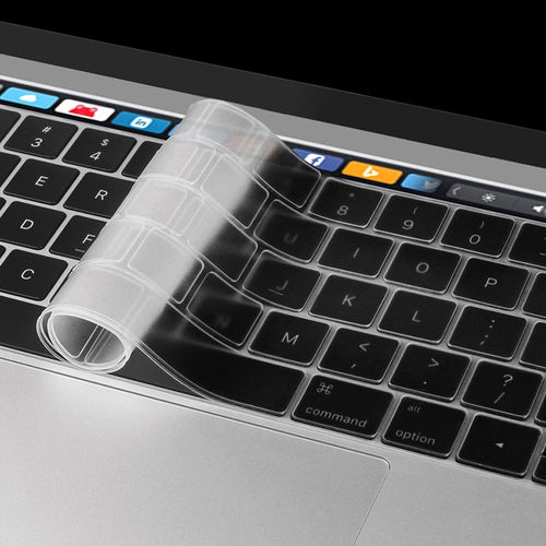 "Keyboard Protector Cover for 13"" / 15"" MacBook Pro Touch Bar - Clear"