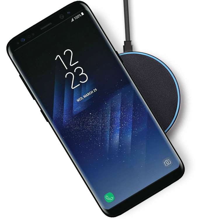nillkin magic disk wireless charging pad samsung galaxy s8. Black Bedroom Furniture Sets. Home Design Ideas