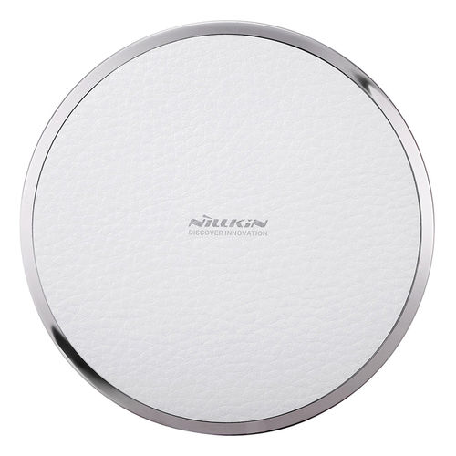 Nillkin Magic Disk III (5W) Qi Wireless Charging Pad - White Leather