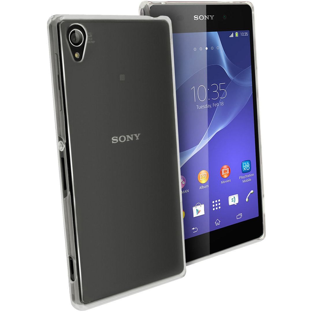 Sony Xperia Z2 Accessories Gadgets 4 Geeks Sim Tray Polysnap Crystal Clear Case For Transparent
