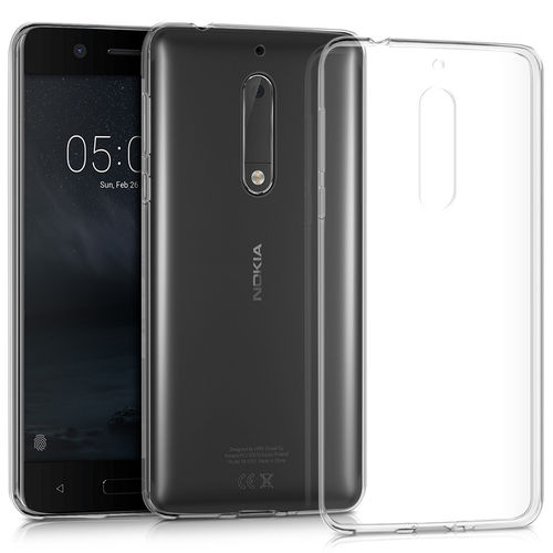 Flexi Slim Gel Case for Nokia 5 - Crystal Clear / Transparent
