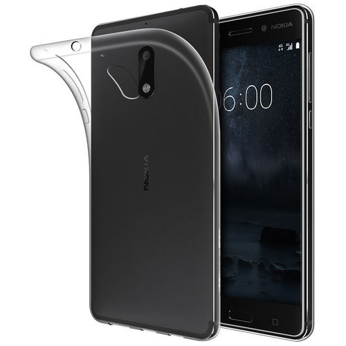 Flexi Slim Protective Case for Nokia 6 (2017) - Clear