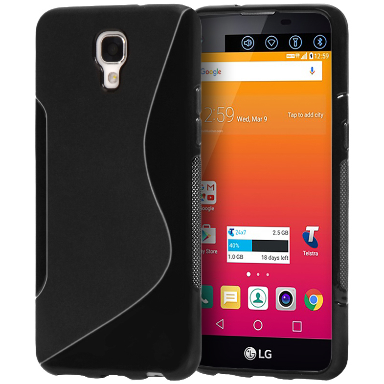 S Line Flexi Case Telstra Signature Enhanced Black