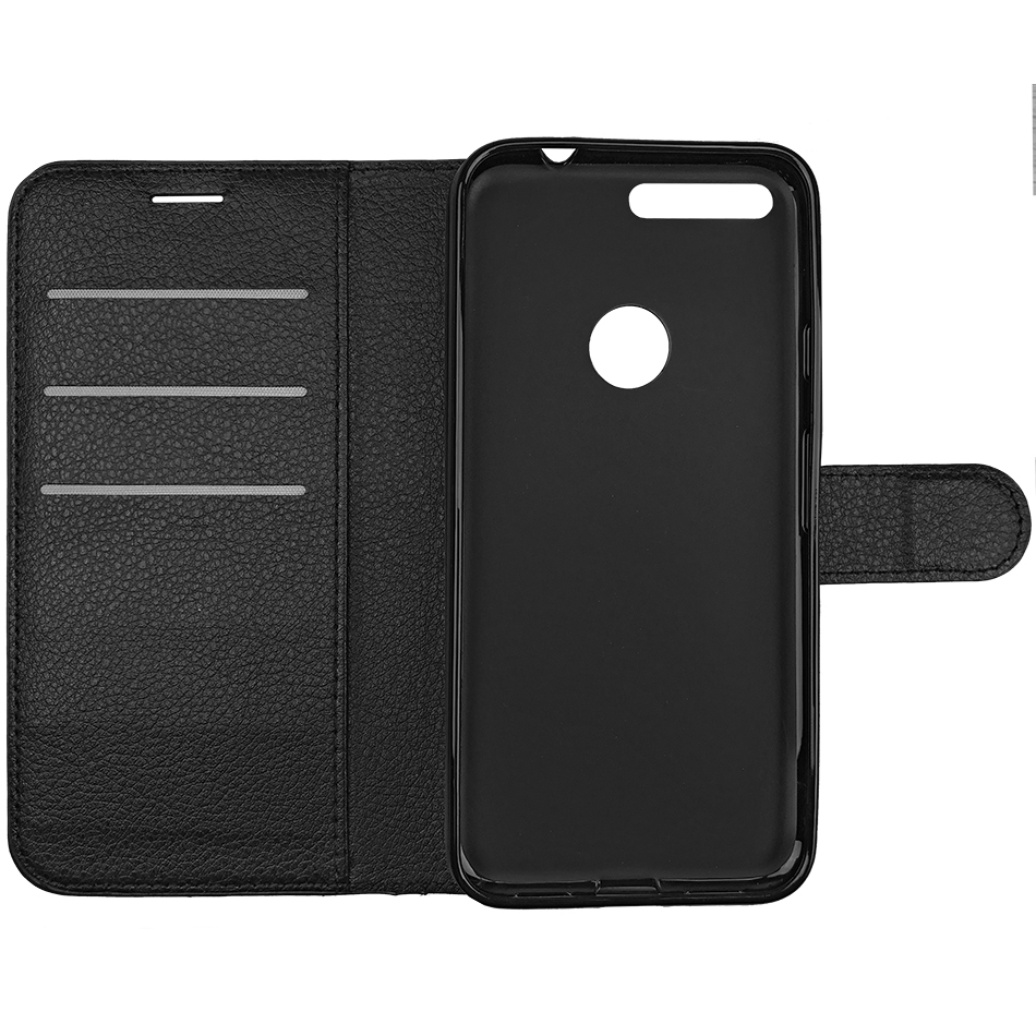 free shipping 9b914 68167 Leather Wallet Case for Google Pixel (Black)