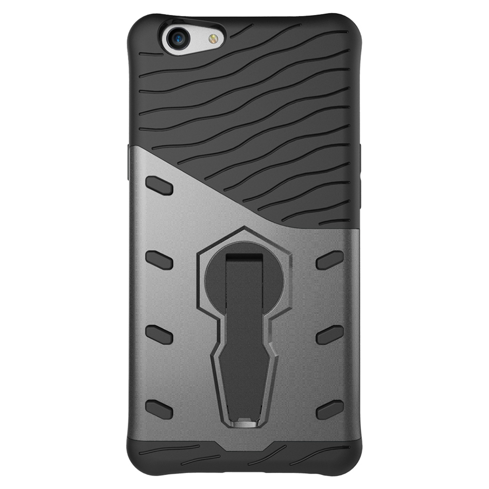 size 40 881b3 5c531 Slim Tough Shockproof Case for Oppo F1s / A59 (Grey)