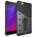 Slim Shield Tough Shockproof Case for Oppo F1s / A59 - Grey