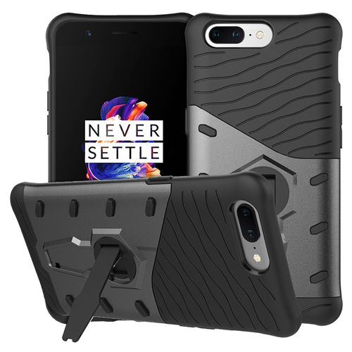 Slim Shield Tough Shockproof Case for OnePlus 5 - Grey