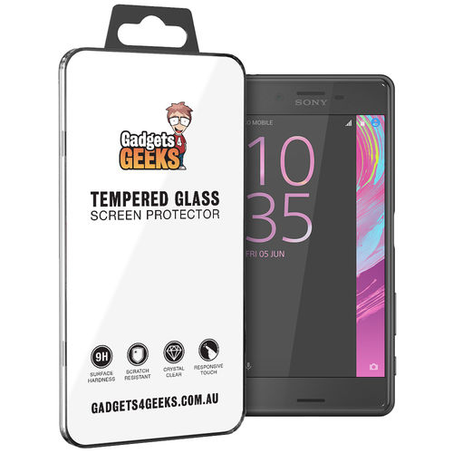 9H Tempered Glass Screen Protector - Sony Xperia X Performance - Clear