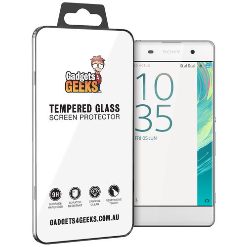 Haweel 9H Tempered Glass Screen Protector for Sony Xperia XA