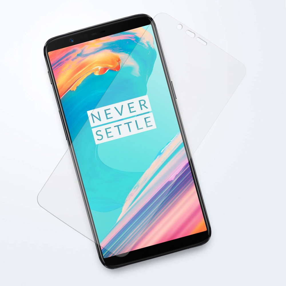 official photos 1bc65 dbe1d 9H Tempered Glass Screen Protector - OnePlus 5T