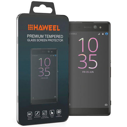 Haweel 9H Tempered Glass Screen Protector for Sony Xperia XA Ultra
