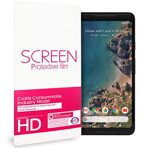 (2-Pack) Full Coverage Fit TPU Screen Protector for Google Pixel 2 XL