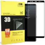 Curved Tempered Glass Screen Protector - Samsung Galaxy Note 8 - Black