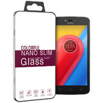 9H Tempered Glass Screen Protector for Motorola Moto C - Clear