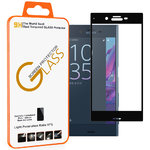3D Curved Tempered Glass Screen Protector for Sony Xperia XZ - Black