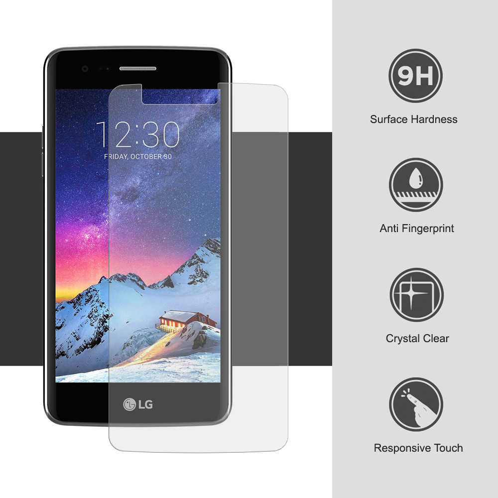 9h Tempered Glass Screen Protector For Lg K8 2017