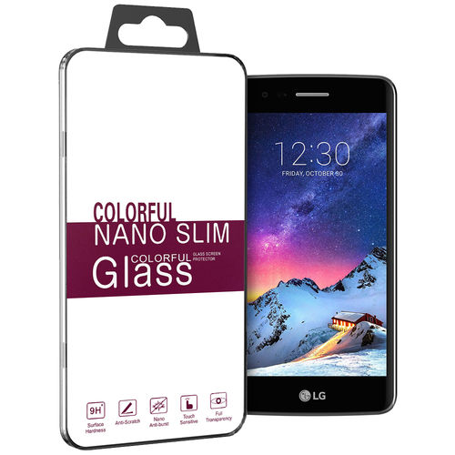 Calans (2-Pack) 9H Tempered Glass Screen Protector for LG K8 (2017)