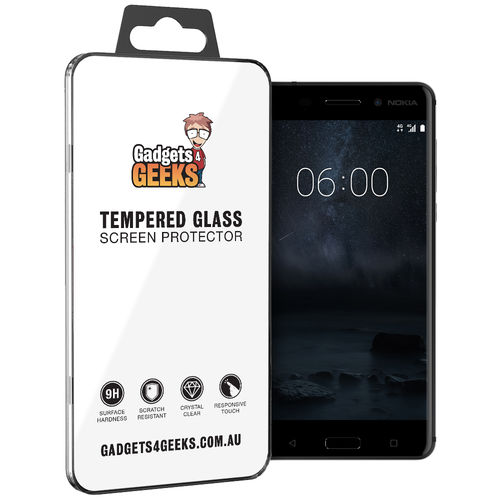 9H Tempered Glass Screen Protector for Nokia 6 (2017) - Clear