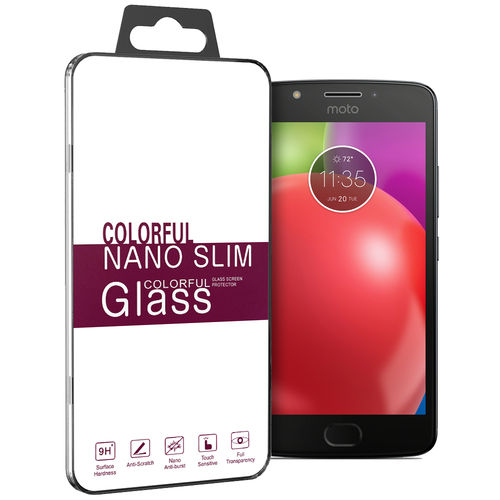 9H Tempered Glass Screen Protector for Motorola Moto E4 - Clear