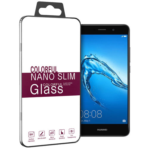 9H Tempered Glass Screen Protector for Huawei Y7 - Clear