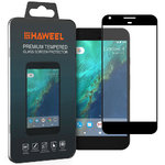 Full Fit Tempered Glass Screen Protector for Google Pixel XL - Black