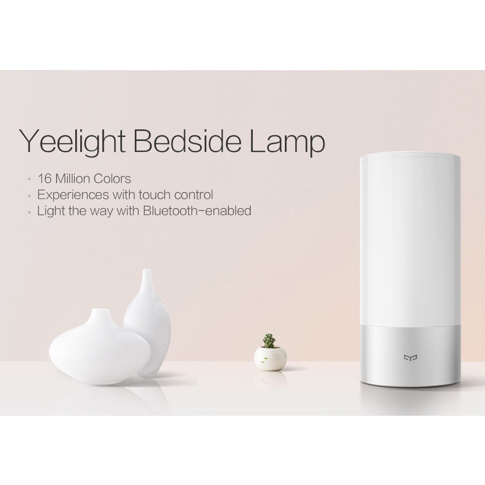 xiaomi yeelight bedside lamp dimmable night light. Black Bedroom Furniture Sets. Home Design Ideas