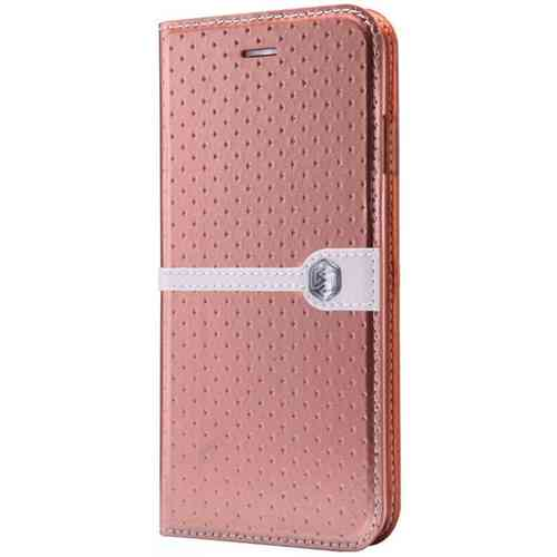 Nillkin Ice Leather Flip Case for Apple iPhone 6 / 6s - Golden Brown