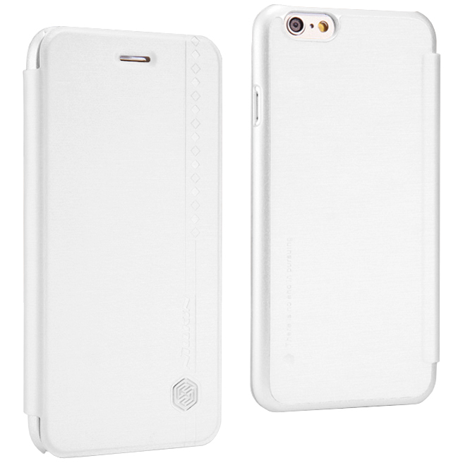 factory authentic 11bc7 23ae1 Nillkin Rain Leather Case for Apple iPhone 6s (White)