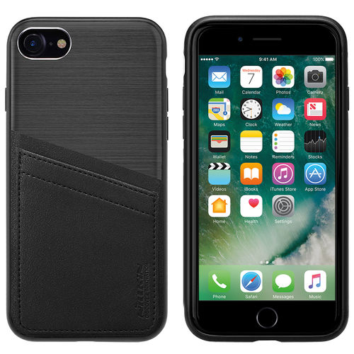 Nillkin Classy Card Slot Leather Case for Apple iPhone 8 / 7 - Black