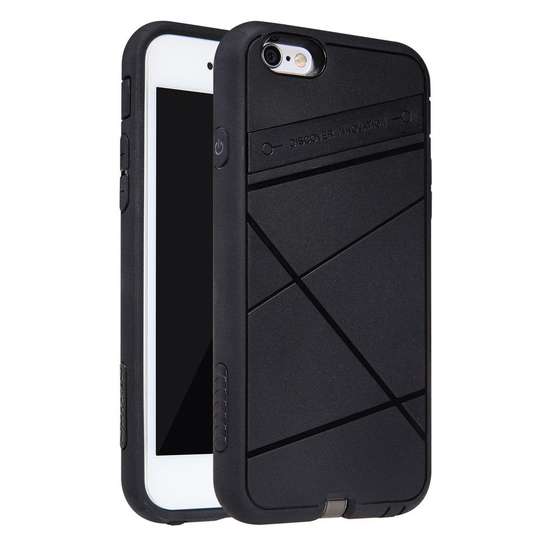 pretty nice bf841 290fd Nillkin Qi Wireless Charging Tough Case - Apple iPhone 6s (Black)