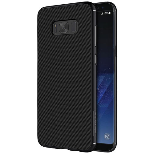 Nillkin Synthetic Carbon Fibre Case for Samsung Galaxy S8+ (Black)